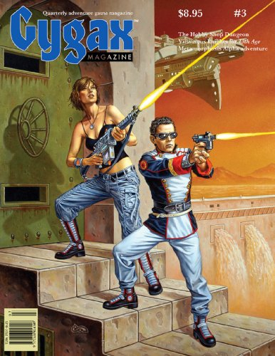 Book cover from Gygax Magazine Issue 3 by Jon Peterson