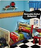 Disney Cars Movie Toddler Bedding 10 Piece Set