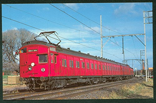 Victorian Railways EMU Wooden Car Electric Train Melbourne Railroad - Beach Stores City Melbourne