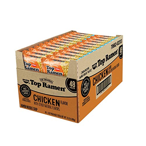Nissin Top Ramen, Chicken Flavor (3 oz. pk, 48 ct.)
