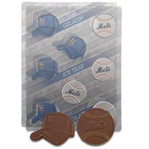 Candy Mlb - MLB New York Mets Candy Mold (Pack of 2)