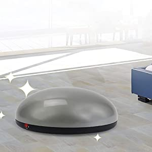 Shentesel Vacuum Cleaner Automatic Electric Floor Carpet Living Room Bedroom Sweeper Robot - Gray