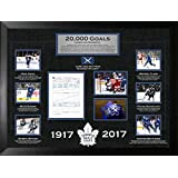 Toronto Maple Leafs Framed 20,000 Goal Tribute Collage