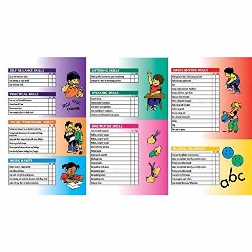 Pack of 80 Pre-Kindergarten Progress Reports for 4 and 5 Year olds by Hayes (Image #2)