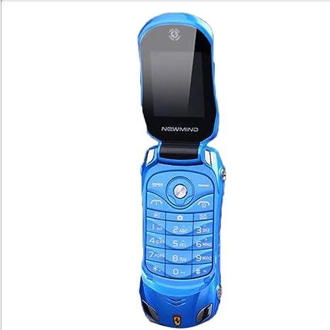 Amazon.com: Giuoke - Mini teléfono con tapa para coche F15 ...