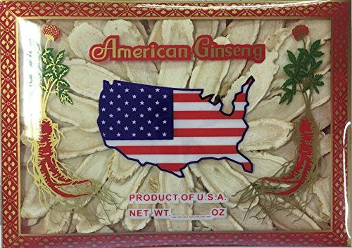 American Ginseng Slices Cultivated 4 Ounce