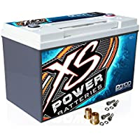 XS Power D3100 12V AGM 5000A Car Audio Battery/Cell+FREE 580 Top-Post Terminals