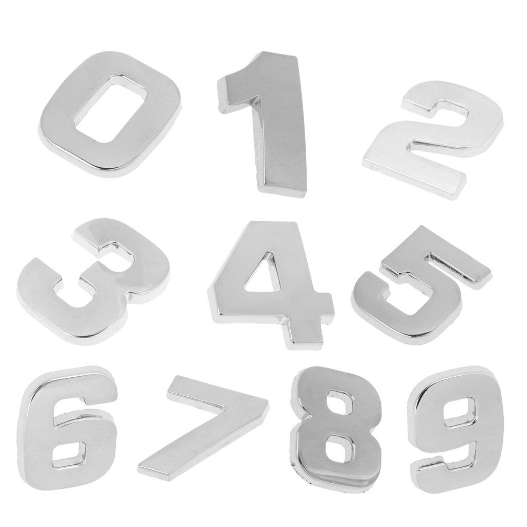 Hausnummer Schild Hausnummernschild Türschild Tür Wanddekor 0-9 Nummer