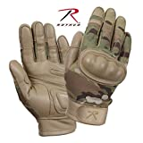 Rothco Hard Knuckle Tactical Gloves (Multicam, Small)