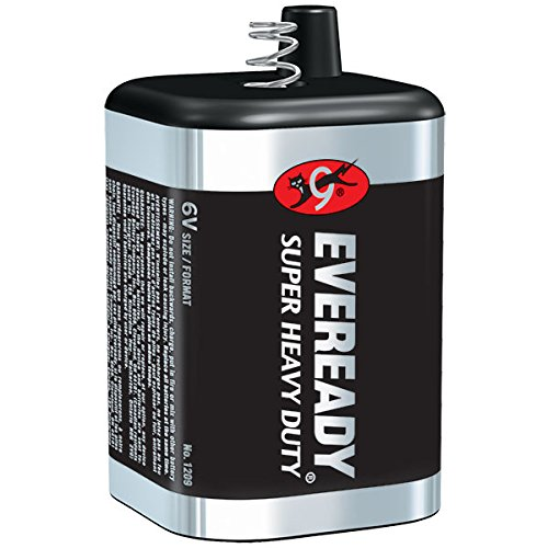 Eveready Super Heavy Duty 6V Battery (Spring Term) (25 Pack) by VOXX ACCESSORIES CORP