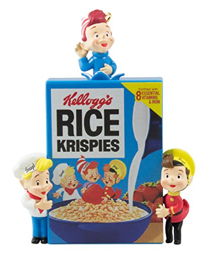 - Hallmark 2016 Christmas Ornament Snap, Crackle & Pop Rice Krispies Cereal Ornament