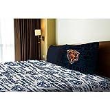 NFL Anthem Chicago Bears Bedding Sheet Set: Twin