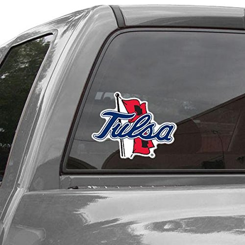(WinCraft NCAA University of Tulsa Perfect Cut Color Decal, 8
