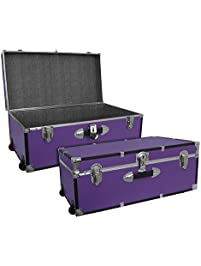 seward trunk 30inch footlocker with wheels
