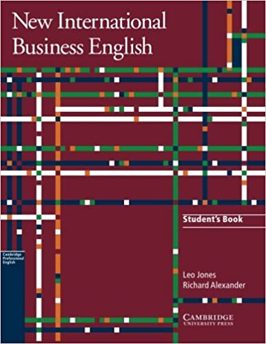 Book New International Business English Student's Book: Communication Skills in English for Business Purposes