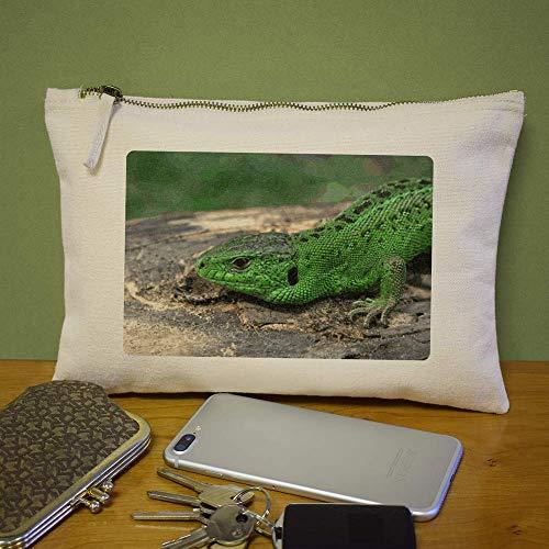 Verde' De Bolso Case Azeeda 'lagartija Accesorios cl00004699 Embrague AqpwFw