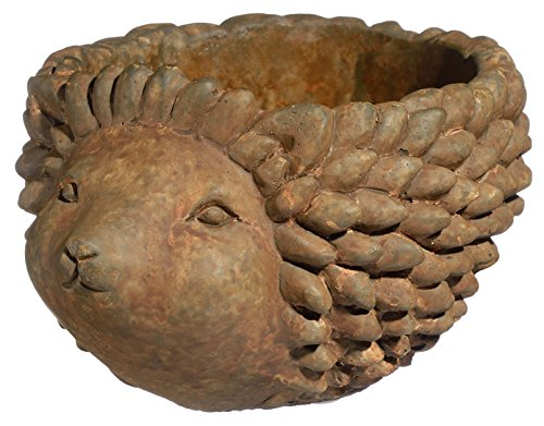Classic Home and Garden 9/3432R/1 Hedgehog Planter, Large, Rust