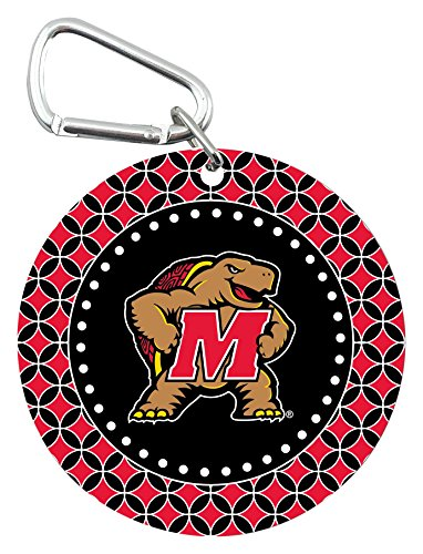 NCAA Maryland Terrapins Mini Mirror with Clip