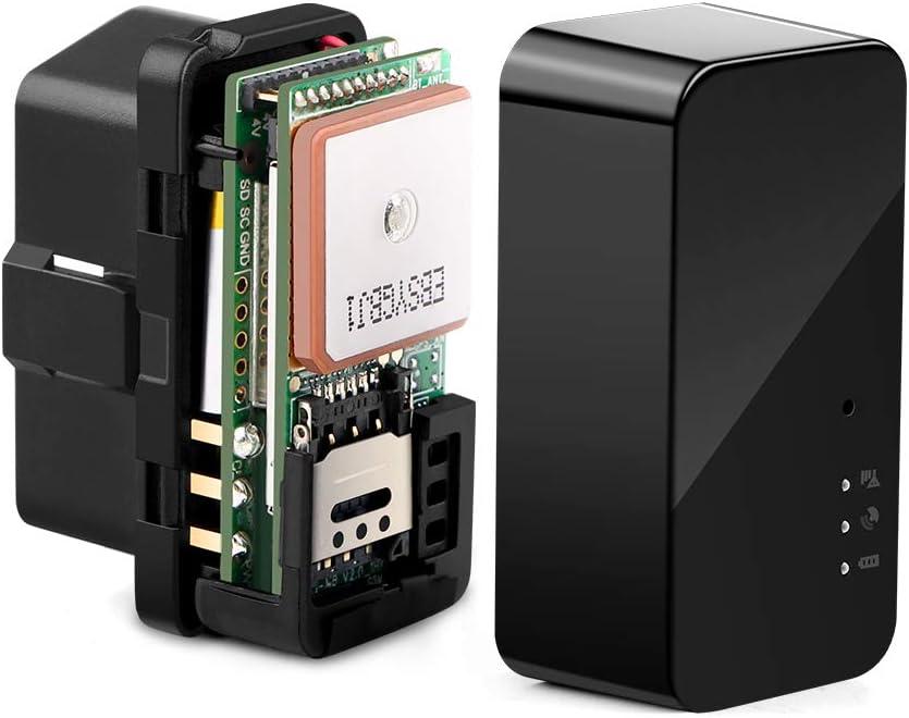 Autopmall Rastreador de Coche OBD GPS Tracker No Mes Tarifa en Tiempo Real Historial de Seguimiento de la Ruta de reproducción de Voz fácil instalación en Segundos Sobre Velocidad Alarma antirrobo