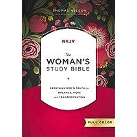 NKJV, Woman's Study Bible, Fully Revised, Hardcover, Full-Color (Bible Nkjv)