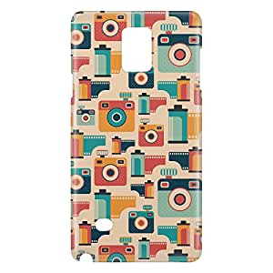 Loud Universe Galaxy Note 5 Retro Photographer Camera Print 3D Wrap Around Case - Multi Color