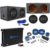 2 Polk Audio MM 1242 SVC 12 2520w Subwoofers+Sealed Box+Mono Amplifier+Amp Kit