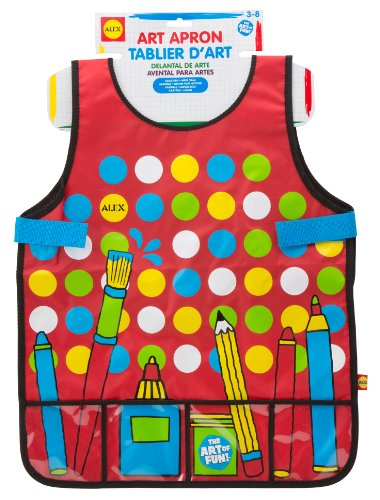 ALEX Toys Artist Studio Super Art Apron with Pockets