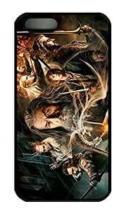 iPhone 5 Case, iPhone 5S Cases - Full-Body Protective Black Hard Cover Case for iPhone 5/5s The Hobbit The Desolation Of Smaug Anti-Scratch Hard Back Case Bumper for iPhone 5/5S