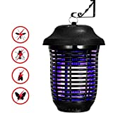 Electric Bug Zapper Light, YUNLIGHTS 40W Outdoor Mosquito Killer with Plug, IPX4 Insect Mosquito Trap for Gardens, Yards, Patio, Pool Area