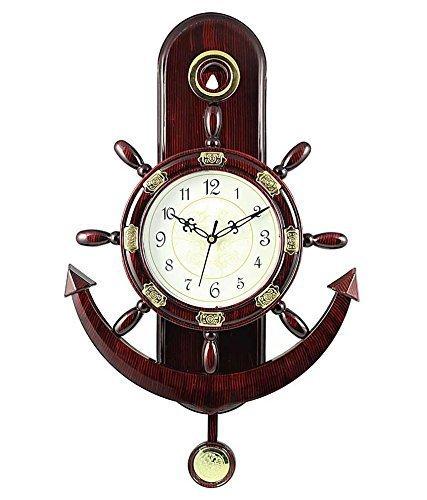 Webelkart Plastic Pendulum Wall Clock