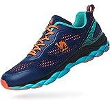 Camel Men's Trail Running Shoes Mesh Blue Athletic Gym Sport Shoes for Men Size 9.5