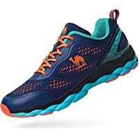 Camel Men's Trail Mesh Running Shoes,Athletic Casual Fashion Sneakers Lightweight for Sport Gym Blue