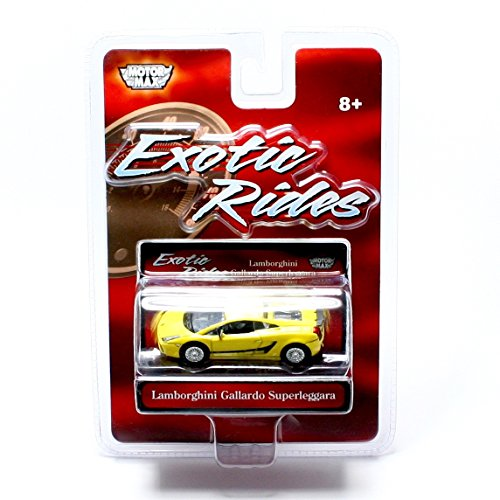 LAMBORGHINI GALLARDO SUPERLEGGARA Exotic Rides 2008 Motor Max 1:64 Scale Vehicle (Lamborghini Gallardo Murcielago)