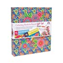 Hello Angel Coloring Book Gift Set