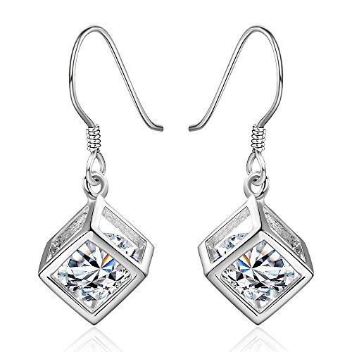 NYKKOLA Fashion Classic Jewellery 925 Solid Silver Teardrop