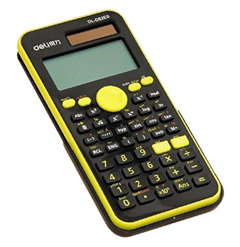 Solar Energy Dual Power Calculator OEM Scientific Calculator -Green