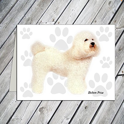 Bichon Frise Greeting Card - Bichon Frise Note Cards