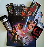 Star Wars Gift Set with Can Cooler, 16oz Tumbler with Lid, Game, Pencils and More
