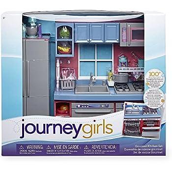 Journey girls gourmet kitchen set toys games for Kitchen set wala game