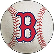 FANMATS Nylon Face Baseball Rug