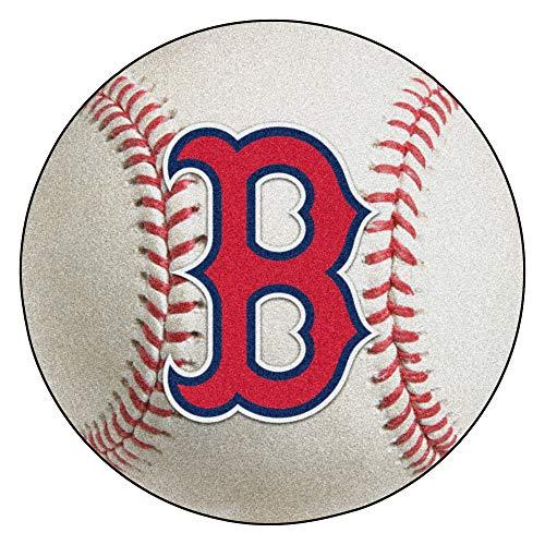 FANMATS MLB Boston Red Sox Nylon Face Baseball Rug