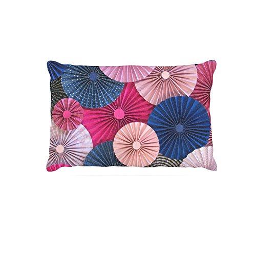 30 by 40\ Kess InHouse Heidi Jennings Navy Pink  Magenta bluee Fleece Dog Bed, 30 by 40