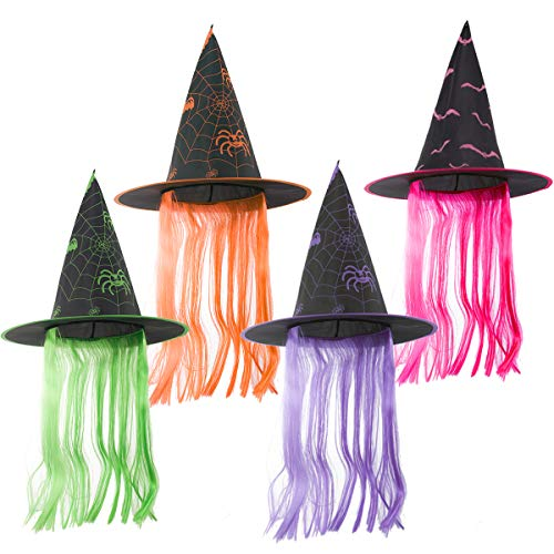 Top 10 best witches hat with hair
