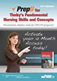 PrepU for Timby, Fundamental Nursing Skills and Concepts, Timby, Barbara, 1451118554