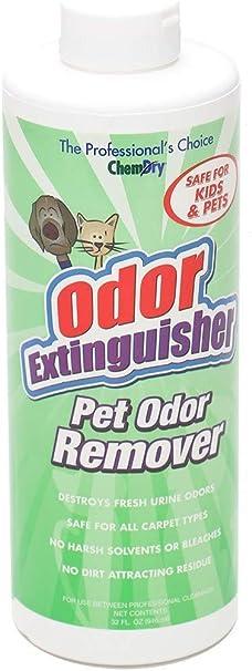 Chem Dry Pet Odor Extinguisher Removes Fresh Pet Urine Odors Home Kitchen