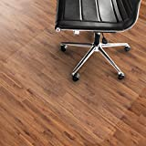 Office Marshal PVC Chair Mat for Hard Floors - 36'' x 48'' | Multiple Sizes Available | Clear, Multi-purpose Floor Protector