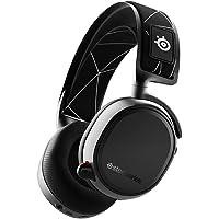 SteelSeries Arctis 9 Wireless Oyuncu Kulaklık- Kayıpsız 2.4 GHz Wireless + Bluetooth - 20 Saat Kullanım Süresi - PC, PS4…