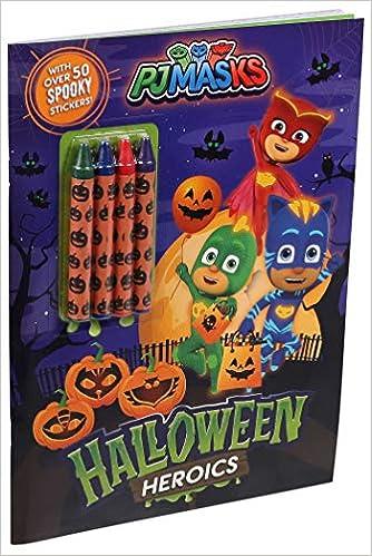 Pj Masks: Halloween Heroics: Amazon.es: Editors of Studio ...