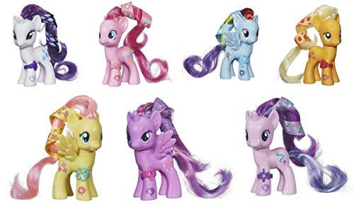 My Little Pony Cutie Mark Magic Rarity, Pinkie Pie, Rainbow Dash, Applejack, Fluttershy, Princess Twilight Sparkle & Starlight Glimmer