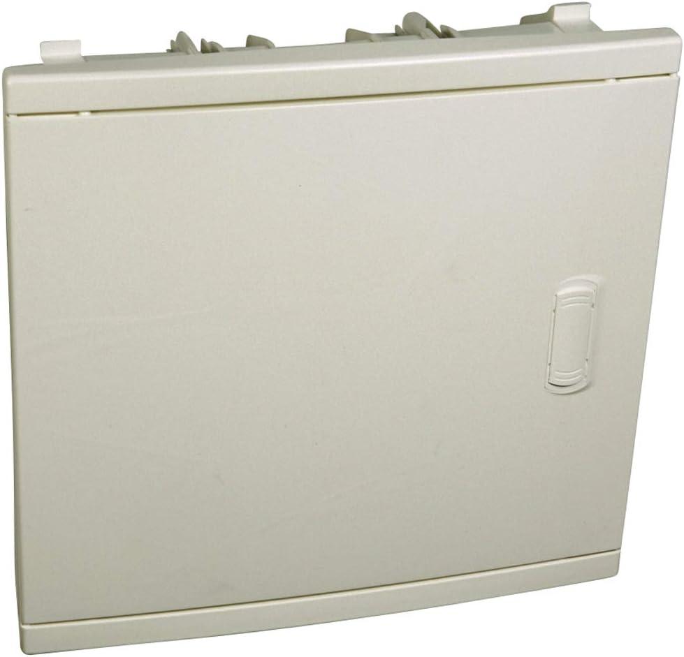 Legrand 001511 Aislante puerta curva caja de empotrar 1 Fila 12 + ...